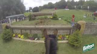 Download Elite Eventing | Blenheim Horse Trials 2013 Cross Country Head Cam with Georgie Spence Video