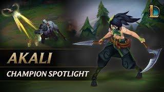 Download Akali Champion Spotlight | Gameplay - League of Legends Video