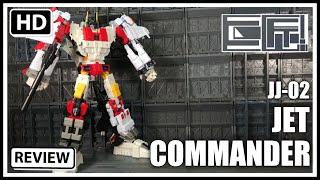 Download JuJiang JJ-02 JET COMMANDER Oversized Retool Transformers Combiner Wars Superion Video