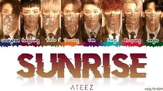 Download ATEEZ (에이티즈) - 'SUNRISE' Lyrics [Color Coded Han Rom Eng] Video