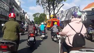 Download Chợ Tân Định,Hiền Vương, Trần Quốc Toản, Ngã 7,Saigon,VietNam Streets,June.21.2018 Video