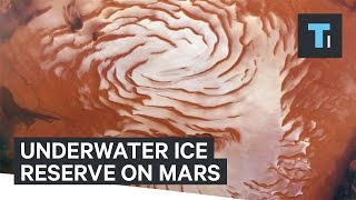 Download Scientists find giant underground ice reserve on Mars Video