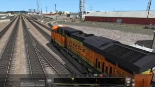 Download Train Simulator 2017 - [BNSF ES44DC] Leaving L.A. Pt.1 - 4K UHD Video