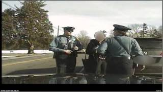Download Dashcam video shows arrest of Princeton professor Video