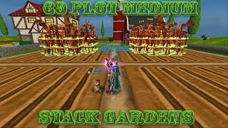 Download Wizard101: Tutorial - How to stack a 69 Plot Medium Garden w/ Commentary Video