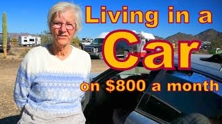 Download Living in a Car on $800 a Month Video