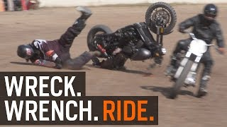 Download Wreck. Wrench. Ride. Harley Flat Track Racing at RevZilla Video