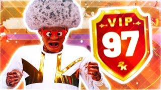Download HITTING 97 OVERALL REACTION - WORLDS BEST 2K PLAYER EVER HITS 97 OVERALL - NBA 2K19 Video