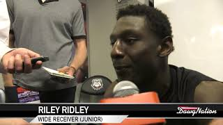 Download Georgia wide receiver Riley Ridley talks about G-day Video