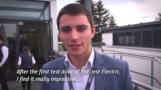 Download The Future of Public Transportation | Jest Electric Bus Video