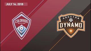 Download HIGHLIGHTS: Colorado Rapids vs. Houston Dynamo | July 14, 2018 Video