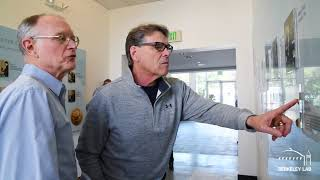 Download Secretary Rick Perry Visits Berkeley Lab Video