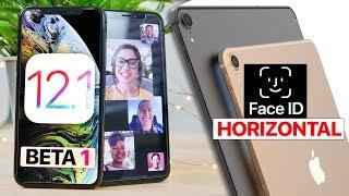 Download iOS 12.1 Beta 1! Group FaceTime & Secret Features Leak! Video