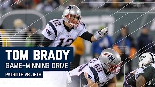 Download Tom Brady Leads Game-Winning Drive! | Patriots vs. Jets | NFL Video