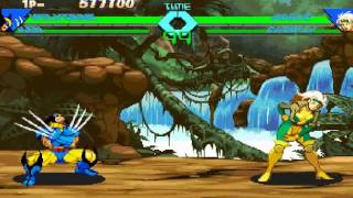 Download X-Men vs Street Fighter with Wolverine and Ken Video