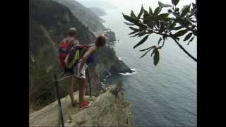 Download Cinque Terre hike from Monterosso to Vernazza, Italy Video