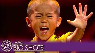Download Mini Bruce Lee Recreates Game of Death | Belgium Little Big Shots Video