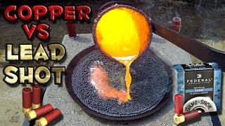 Download Molten Copper vs Lead Shot Video