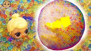 Download Giant Orbeez Ball ! LOL Surprise + Fun Mystery Blind Bags Video