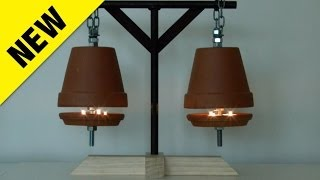 Download NEW Flower Pot Heater - Costs Just 4 Cents An Hour To Run... Video