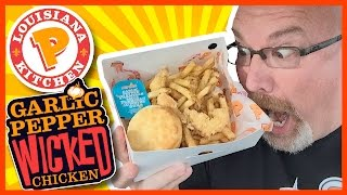 Download ★ Popeyes Louisiana Kitchen ★ Garlic Pepper Wicked Chicken Review Video
