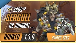 Download [Rating:3609] NRG Seagull as Junkrat & Genji on Temple of Anubis Assault / S2 Master Ranked Gameplay Video
