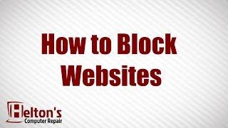 Download How To Block Websites - XP / Vista / 7 Video