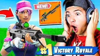 Download *NEW* HEAVY SNIPER GAMEPLAY! - Fortnite Battle Royale Video