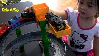 Download Sodor Spiral Run Playtime with Maya - Thomas and Friends Take N Play Set Video
