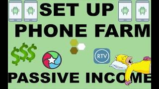 Download How to Set Up a Phone Farm. Make Passive Income with your Phones and PC Video