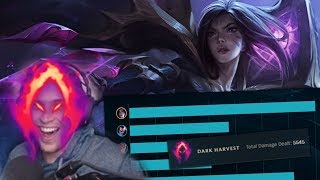 Download So I accidentally took Dark Harvest on Kai'Sa in my promos.. Video