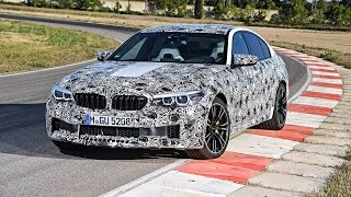 Download Race driver Timo Glock drives the new BMW M5 for the first time. Video