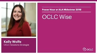 Download OCLC Wise Video