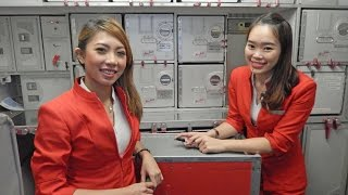 Download Flying from Cebu Philippines to Kuala Lumpur Malaysia on Air Asia Video