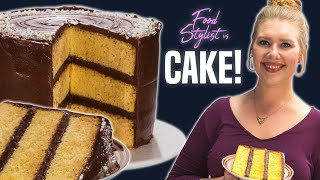 Download How to Style a Birthday Cake | How a Food Stylist Decorates the Perfect Layer Cake | Well Done Video
