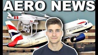 Download DROHNEN legen FLUGHAFEN lahm! LONDON GATWICK! AeroNews Video