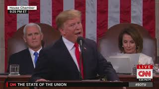 Download Trump criticizes Senate for lagging confirmations at State of the Union Video