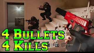 Download 4 Shot, 4 kills - Rainbow Six Siege Video