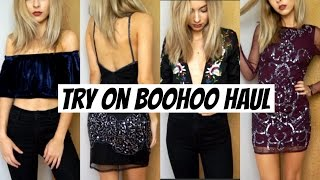 Download HUGE Try-On Holiday Clothing and Accessories Haul | boohoo Video