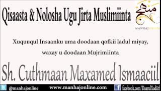 Download • Qisaasta & Nolosha Ugu Jirta Muslimiinta || Sh. Cuthmaan Maxamed Ismaaciil حفظه الله Video