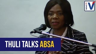 Download I made investigations to the ABSA state looting allegations -Thuli Madonsela Video