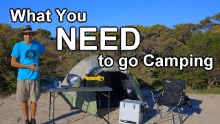 Download What You Actually NEED to go Camping Video