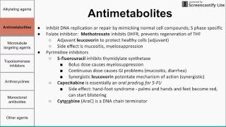 Download Chemotherapeutic agents Video