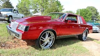 Download WhipAddict: Kandy Red Buick Regal on Amani Forged Vice 24s, Custom Interior & Grille Video