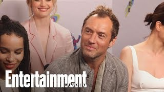 Download 'Fantastic Beasts' Star Jude Law On What Grindelwald Represents | SDCC 2018 | Entertainment Weekly Video