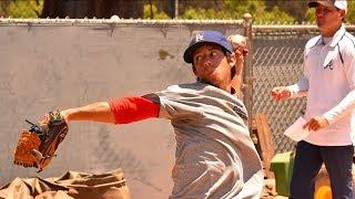 Download Atlanta Braves open tryouts in Poway, Calif. Video
