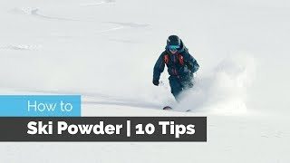Download HOW TO SKI POWDER | 10 TIPS Video