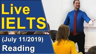 Download IELTS Live - Reading - Strategies for Band 9 Video