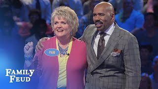 Download Can Sarah and Pam SCORE? | Family Feud Video