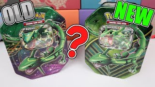 Download OLD vs NEW RAYQUAZA EX TINS! Pokemon Card Opening Video